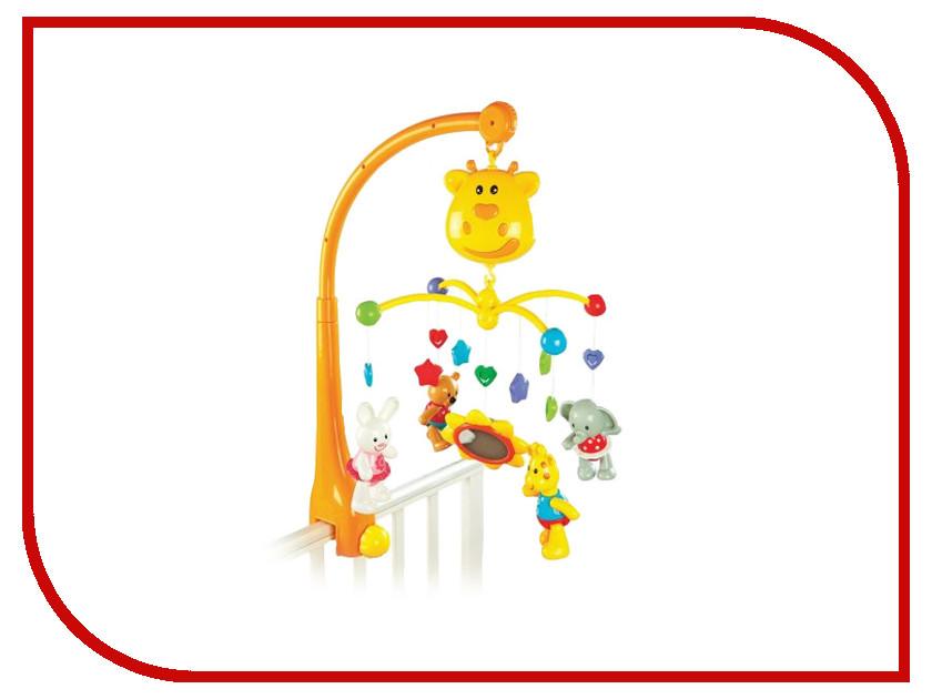 Музыкальный мобиль Жирафики Жираф 939402 babyono жираф желтый