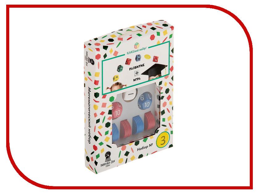 Настольная игра Правильные игрушки Математический набор №3 01PB003