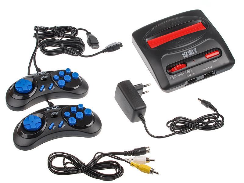 Игровая приставка SEGA Magistr Drive 2 lit + 65 игр