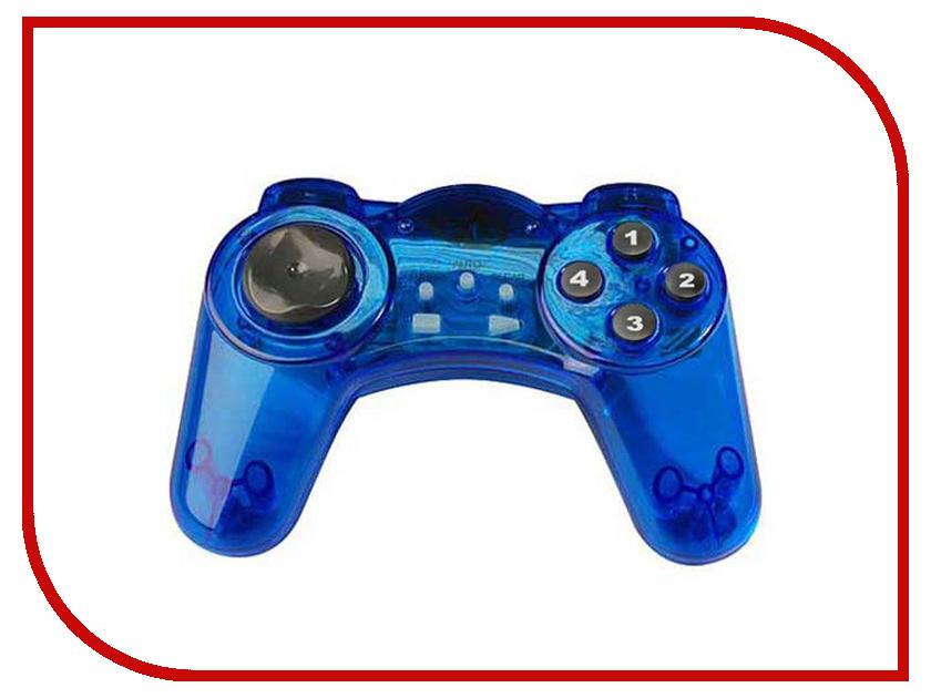 Геймпад DVTech JS19 Gear Blue dvtech js62 horror ninja геймпад для pc