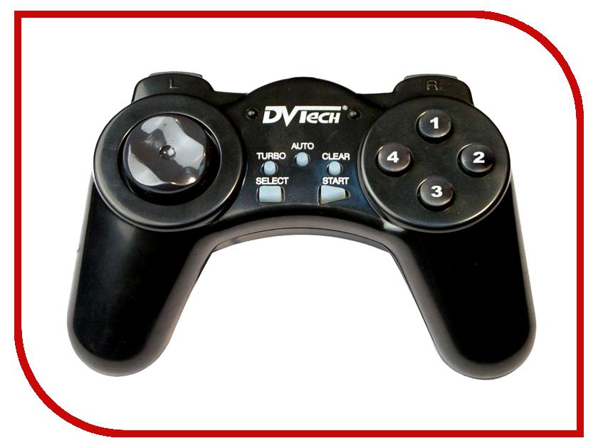 Геймпад DVTech JS19 Gear Black джойстик pc dvtech js19 gear синий