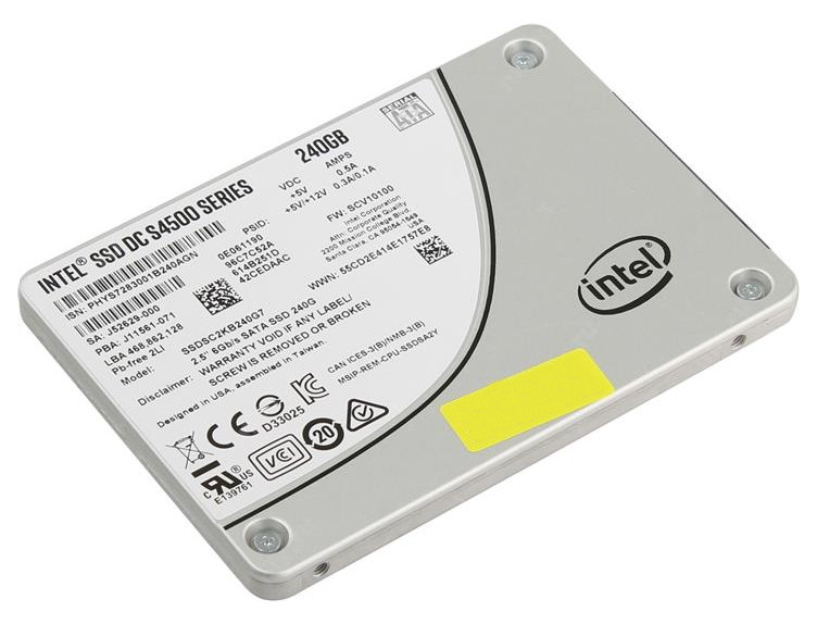 Жесткий диск 240Gb - Intel SSD DC S4500 Series SSDSC2KB240G701