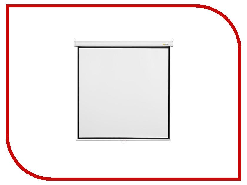 рулонный экран для проектора digis optimal b dsob 1103 mw Экран Digis Optimal-B DSOB-1103 180x180cm