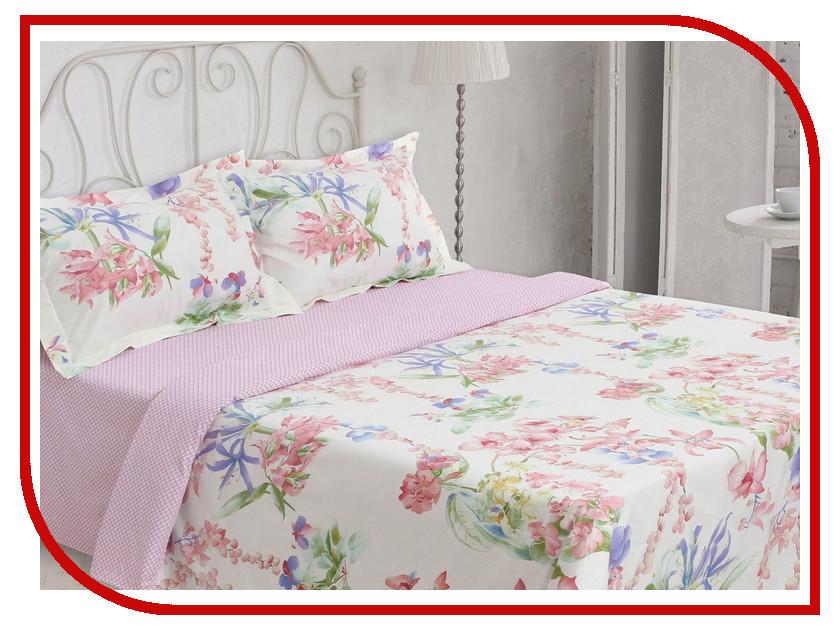 Постельное белье Этель Premium Весенняя нега Комплект 1.5 спальный Сатин 1773441 рейма весенняя коллекция 2015