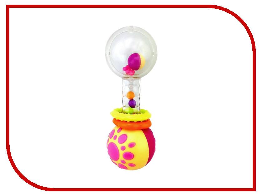 Игрушка Жирафики Погремушка Звонкая Гантелька 939408 жирафики игрушка погремушка тапочки мишки цвет серо коричневый