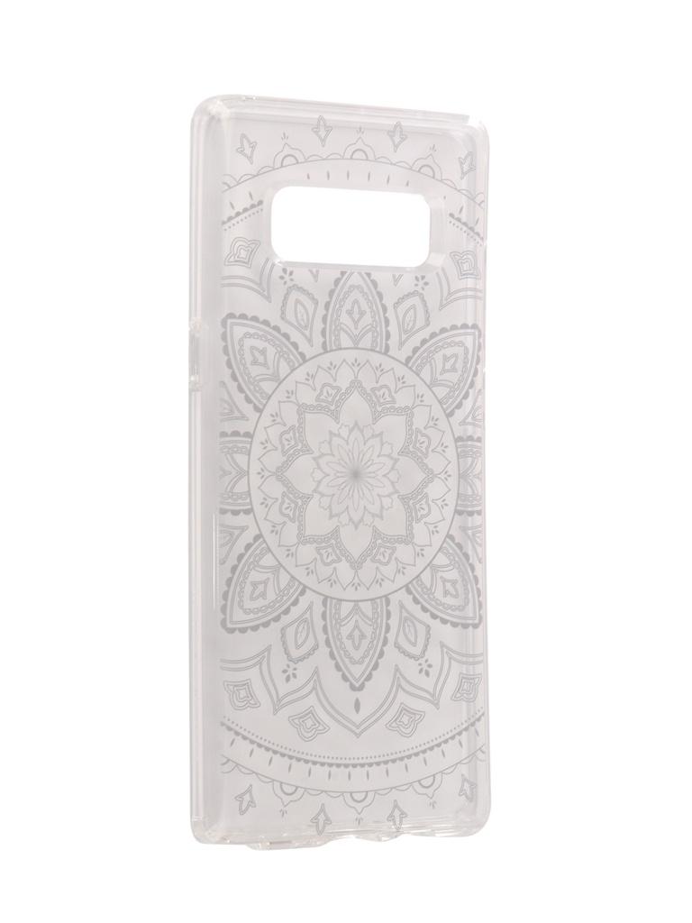 Аксессуар Чехол Spigen для Galaxy Note 8 Liquid Crystal Shine Transparent 587CS22057 защитный чехол spigen liquid crystal blossom flower для samsung galaxy s9