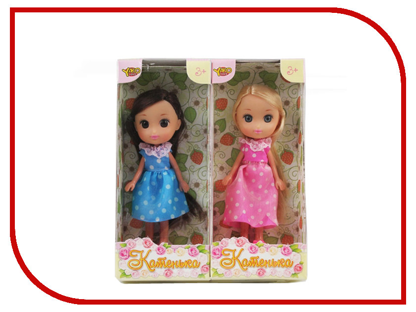 Кукла Yako Катенька M6616