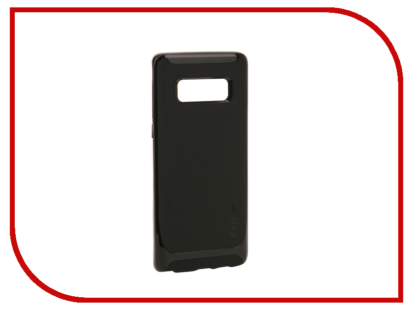 Аксессуар Чехол Spigen для Samsung Galaxy Note 8 Neo Hybrid Shiny Black 587CS22085 аксессуар чехол spigen для samsung galaxy note 8ultra hybrid crystal pink 587cs22064