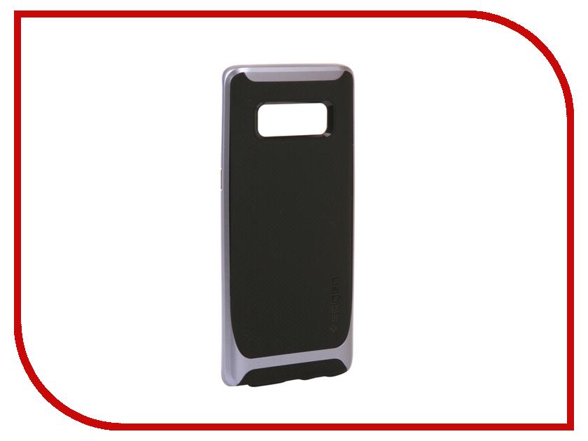 Аксессуар Чехол Spigen для Samsung Galaxy Note 8 Neo Hybrid Grey 587CS22089 neo hybrid