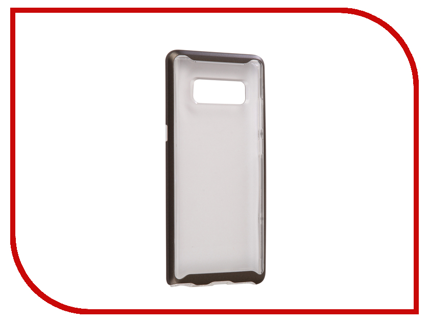 Аксессуар Чехол Spigen для Samsung Galaxy Note 8 Neo Hybrid Crystal Steel 587CS22092 аксессуар чехол spigen для samsung galaxy note 8ultra hybrid crystal pink 587cs22064