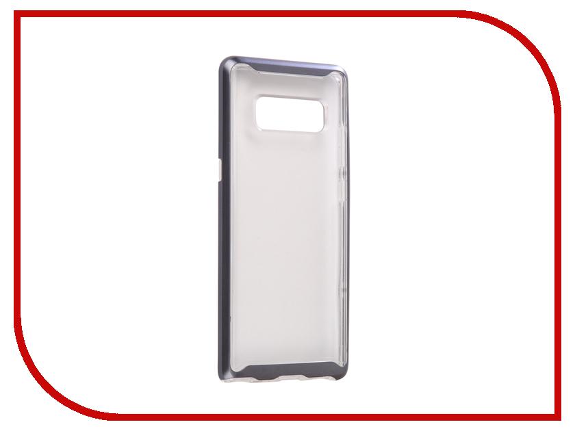 Аксессуар Чехол Spigen для Samsung Galaxy Note 8 Neo Hybrid Crystal Grey 587CS22093 аксессуар чехол spigen для samsung galaxy note 8ultra hybrid crystal pink 587cs22064