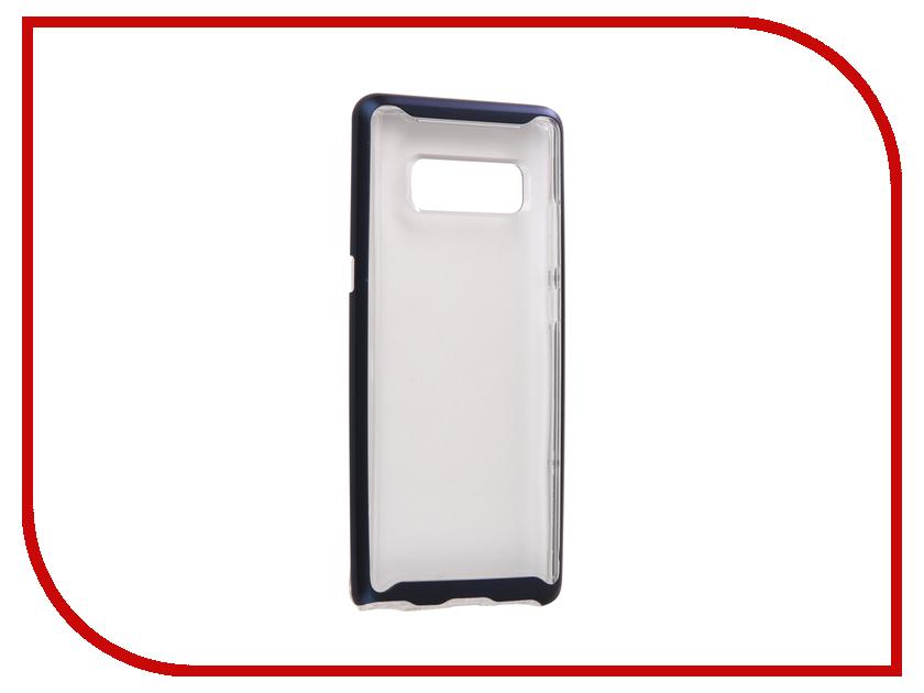 Аксессуар Чехол Spigen для Samsung Galaxy Note 8 Neo Hybrid Crystal Blue 587CS22094 аксессуар чехол spigen для samsung galaxy note 8ultra hybrid crystal pink 587cs22064
