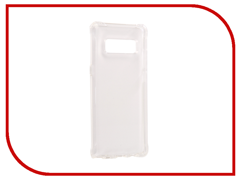 Аксессуар Чехол Spigen для Samsung Galaxy Note 8 Rugged Crystal Transparent 587CS22062 аксессуар чехол spigen для samsung galaxy note 8ultra hybrid crystal pink 587cs22064