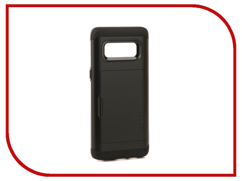 Аксессуар Чехол Spigen для Samsung Galaxy Note 8Slim Armor CS Black 587CS22070 защитное стекло spigen glas t nano slim для samsung galaxy s5 sgp10726