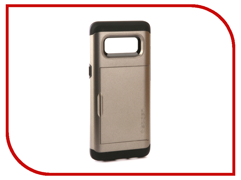 Аксессуар Чехол Spigen для Samsung Galaxy Note 8 Slim Armor CS Steel 587CS22071 защитное стекло spigen glas t nano slim для samsung galaxy s5 sgp10726