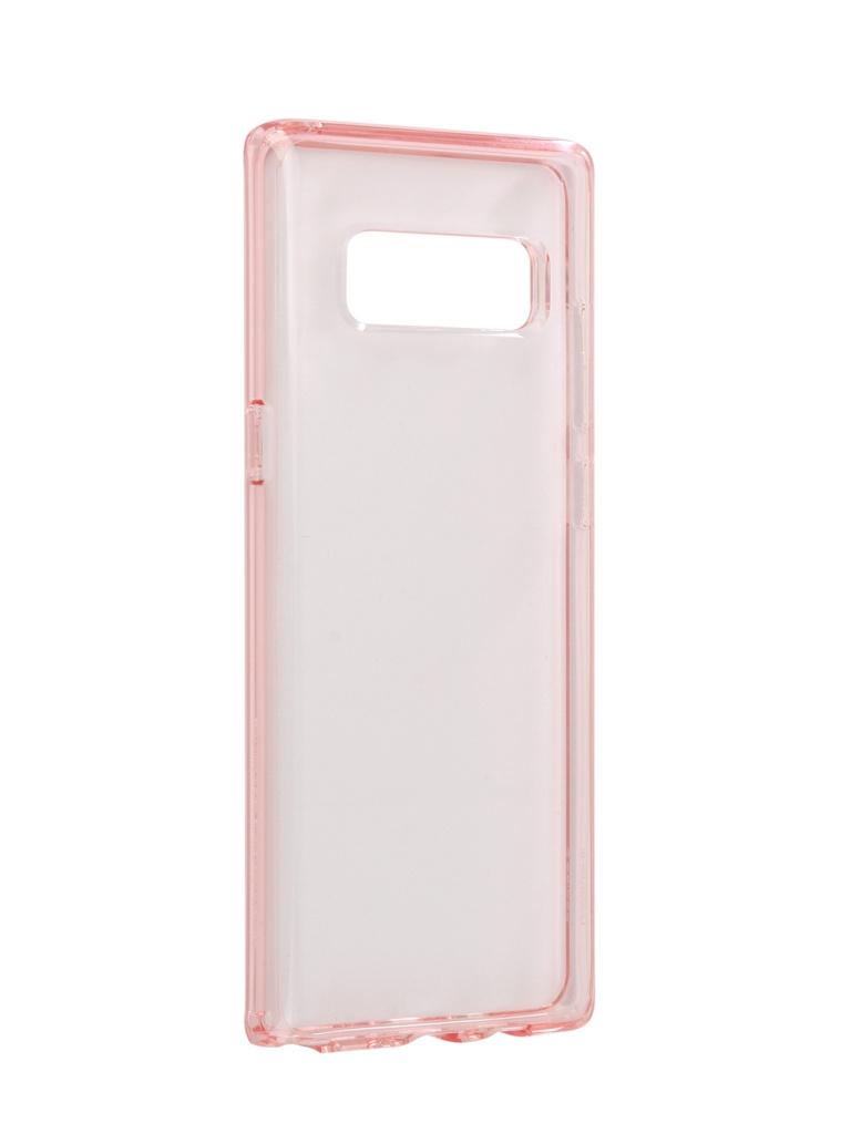 Аксессуар Чехол Spigen для Samsung Galaxy Note 8Ultra Hybrid Crystal Pink 587CS22064 защитный чехол spigen liquid crystal blossom flower для samsung galaxy s9