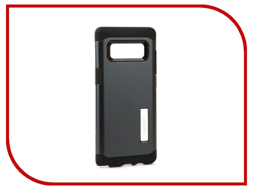 Аксессуар Чехол Spigen для Samsung Galaxy Note 8Slim Armor Metal 587CS21834 защитное стекло spigen glas t nano slim для samsung galaxy s5 sgp10726