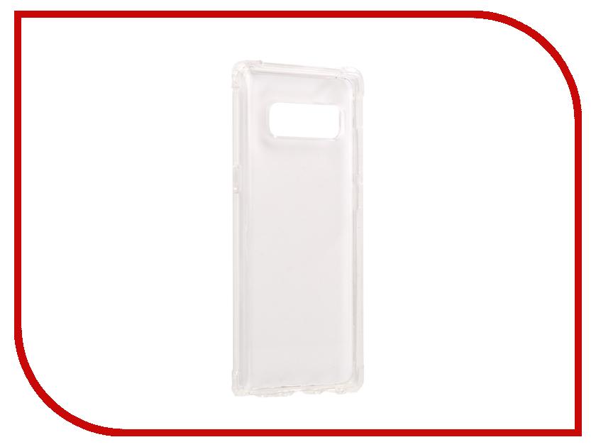 Аксессуар Чехол Spigen для Samsung Galaxy Note 8Crystal Shell Transparent 587CS21839 аксессуар чехол spigen для samsung galaxy note 8ultra hybrid crystal pink 587cs22064