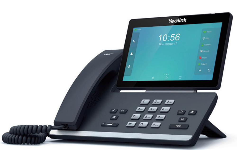VoIP оборудование Yealink SIP-T58A goip voip gateway gsm converter sip ip phone adapter ip pbx goip 1 sms gateway imei change voip telephones