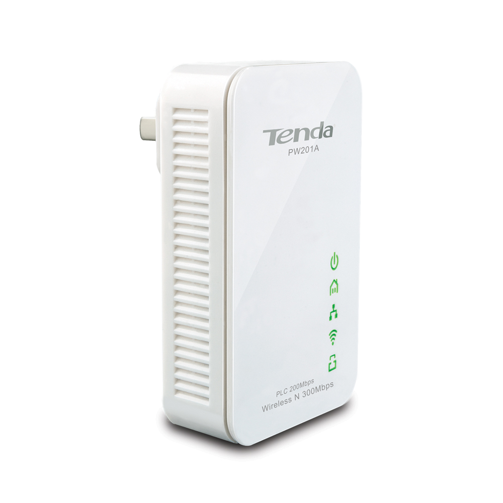 Powerline адаптер Tenda PW201A powerline адаптер tenda pw201a p200 kit