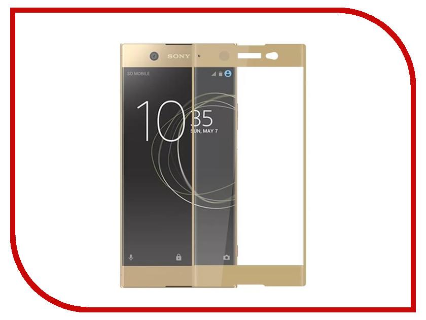 Аксессуар Защитное стекло для Sony Xperia XA1 Mobius 3D Full Cover Gold аксессуар защитное стекло sony xperia xa1 plus solomon full cover black
