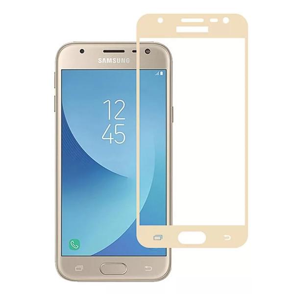 Аксессуар Защитное стекло Mobius 3D Full Cover для Samsung Galaxy J5 2017 Gold аксессуар защитное стекло для samsung galaxy a8 2018 mobius 3d full cover black