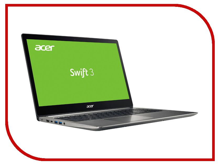 Ноутбук Acer Swift 3 SF315-51-55TM NX.GQ5ER.004 (Intel Core i5-7200U 2.5 GHz/8192Mb/256Gb SSD/Intel HD Graphics/Wi-Fi/Bluetooth/Cam/15.6/1920x1080/Windows 10 64-bit) ноутбук msi gp72 7rdx 484ru 9s7 1799b3 484 intel core i7 7700hq 2 8 ghz 8192mb 1000gb dvd rw nvidia geforce gtx 1050 2048mb wi fi bluetooth cam 17 3 1920x1080 windows 10 64 bit