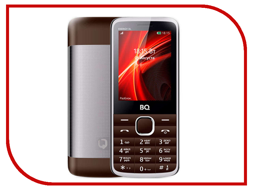 цена на Сотовый телефон BQ 2806 Energy XL Brown