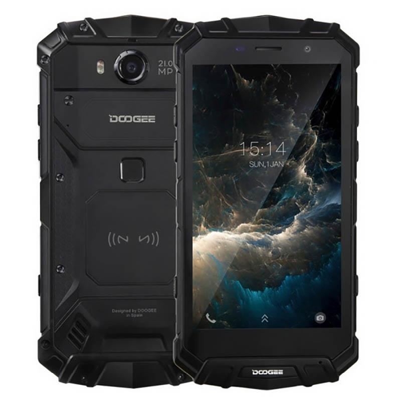 Сотовый телефон Doogee S60 Black сотовый телефон bq 2808 telly black grey