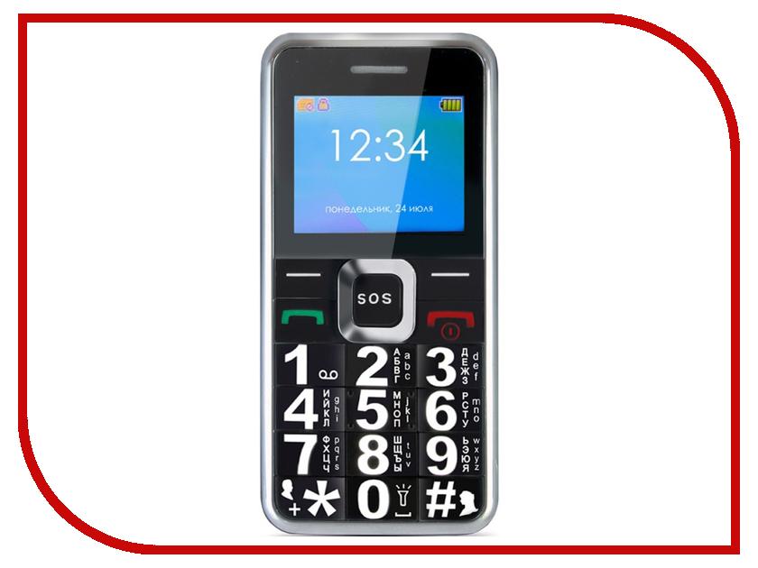 Сотовый телефон Ginzzu MB505 Black сотовый телефон ginzzu rs93 dual black