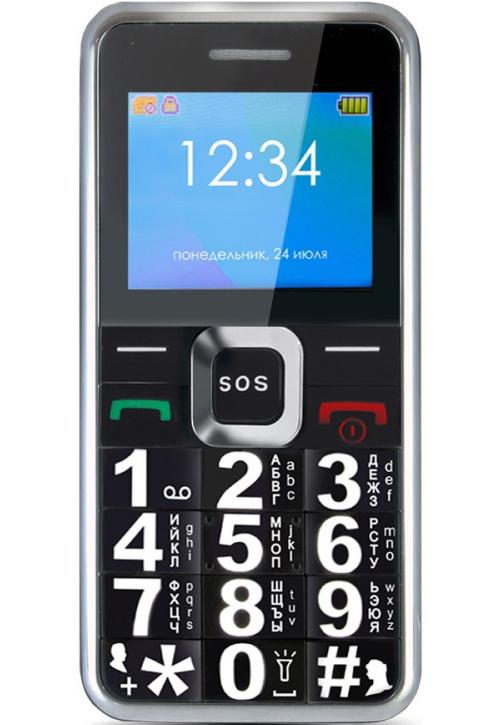 Сотовый телефон Ginzzu MB505 Black