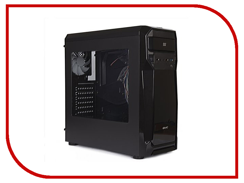 Корпус GMC B7 w/o PSU Shiny Black
