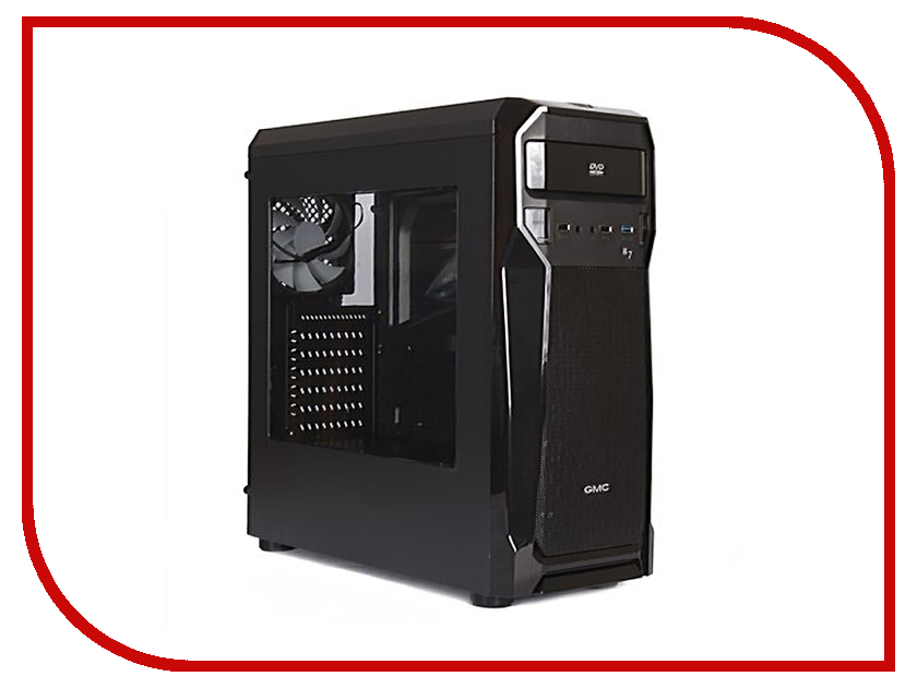 Корпус GMC B7 w/o PSU Aero Black