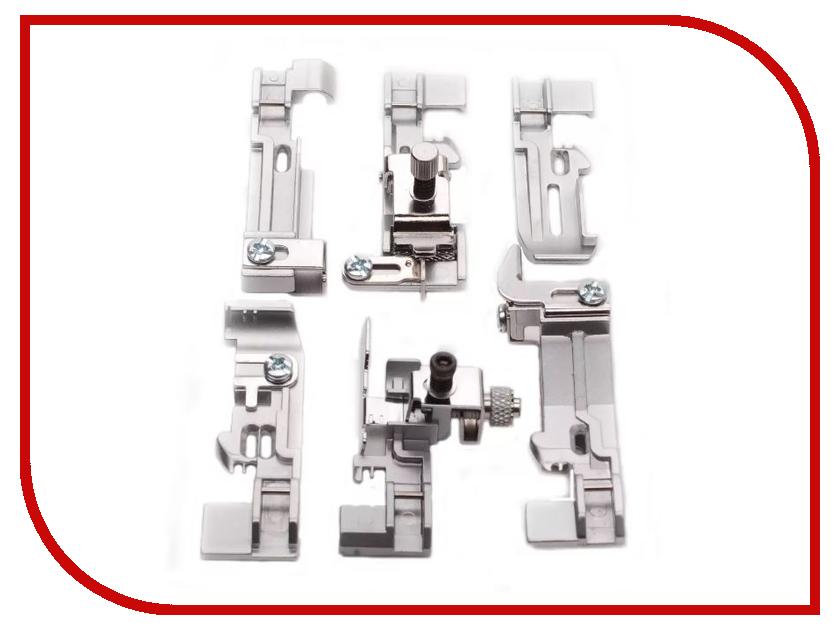 Набор лапок для оверлока Merrylock для 5-ти ниток купить набор лапок для швейной машинки