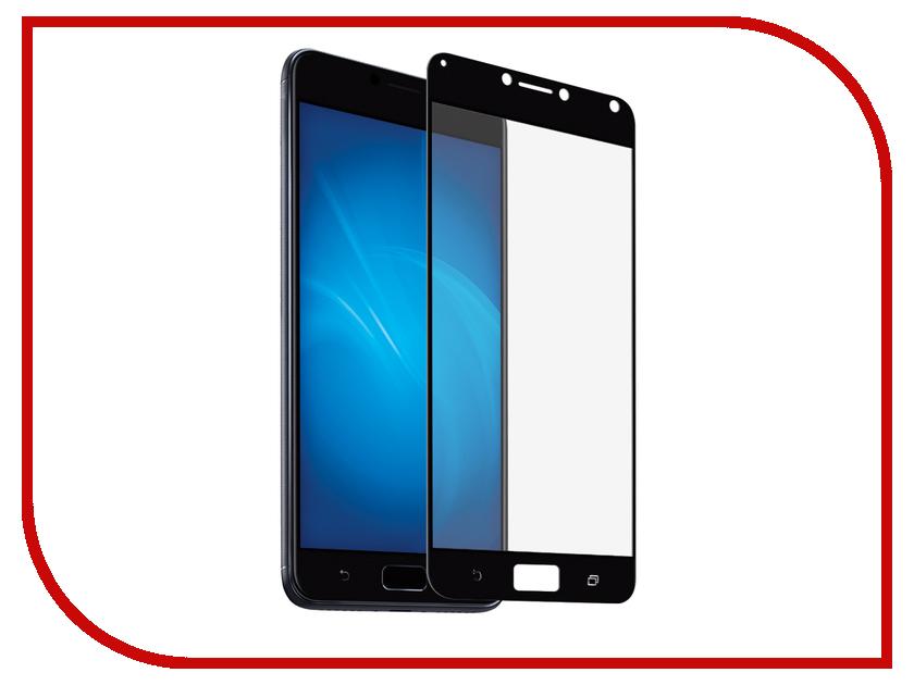 Аксессуар Закаленное стекло для Asus Zenfone 4 Max ZC554KL DF Full Screen aColor-06 Black чехол soft touch для asus zenfone 3 ze552kl df aslim 17