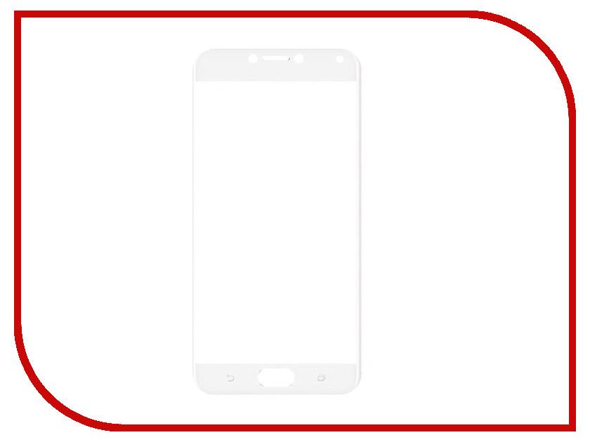 Аксессуар Закаленное стекло для Asus Zenfone 4 Max ZC520KL DF Full Screen aColor-07 White чехол soft touch для asus zenfone 3 ze552kl df aslim 17