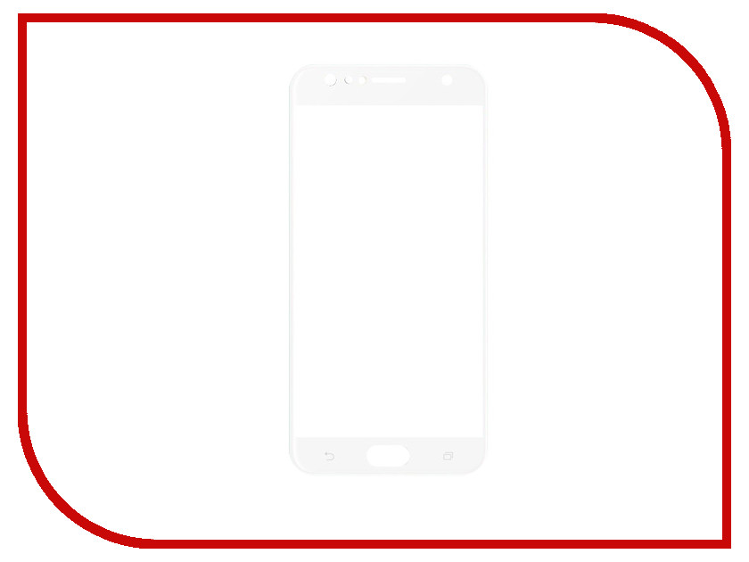 Аксессуар Закаленное стекло для Asus Zenfone 4 Selfie ZD553KL DF Full Screen aColor-09 White for lenovo zuk z2 lcd screen display with touch screen digitizer panel glass assembly black white replacement parts free shipping