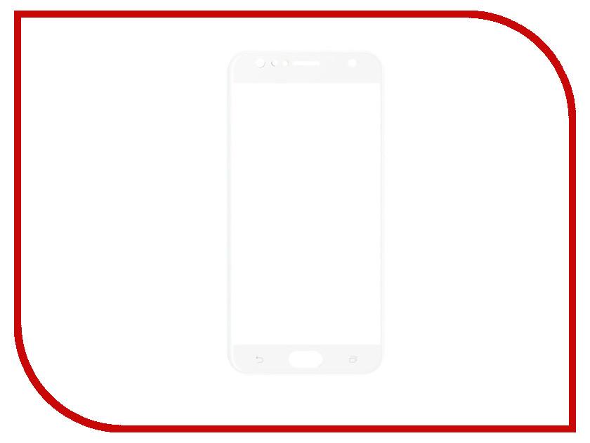 Аксессуар Закаленное стекло для Asus Zenfone 4 Selfie ZD553KL DF Full Screen aColor-09 White