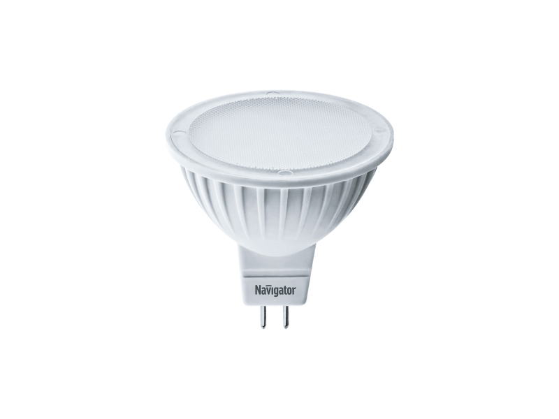 Лампочка Navigator GU5.3 7W 3000K 500Lm Warm Light NLL-MR16-7-230-3K-GU5.3-DIMM / 61 382
