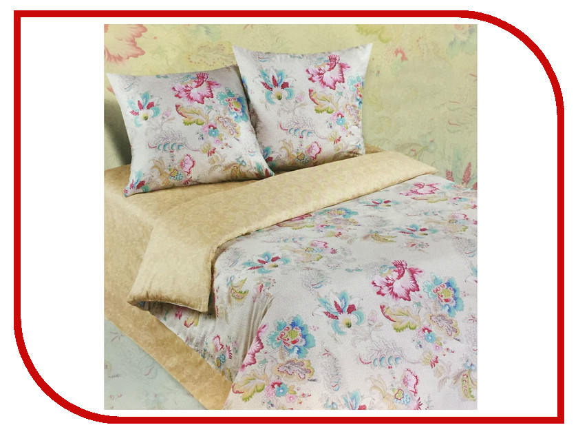 Постельное белье Экзотика 468 Комплект 2 спальный Поплин