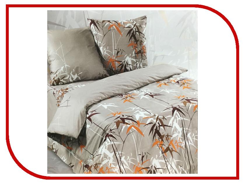 Постельное белье Экзотика Тростник Комплект 1.5 спальный Поплин костюм тростник