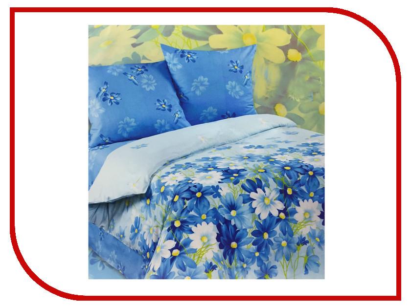 Постельное белье Экзотика Полянка Комплект 1.5 спальный Поплин