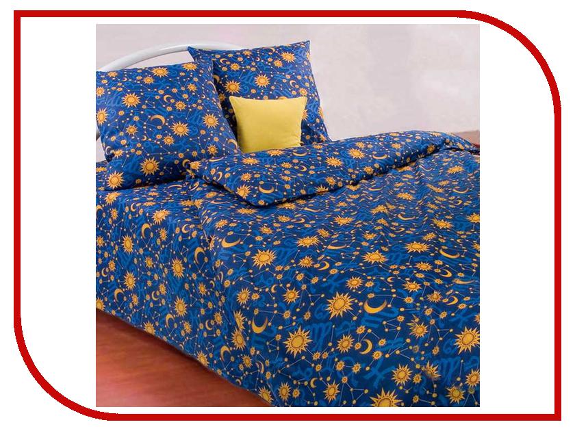Постельное белье Экзотика Ночка Комплект 1.5 спальный Поплин