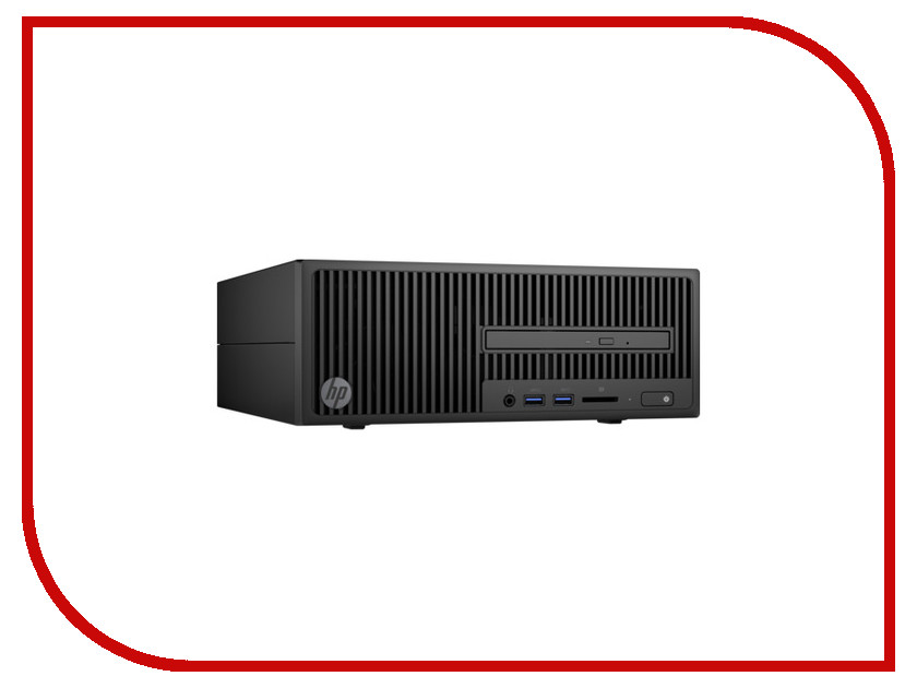 Настольный компьютер HP 280 G2 SFF Y5P88EA (Intel Pentium G4400 3.3 GHz/4096Mb/500Gb/DVD-RW/Intel HD Graphics/Windows 10 Pro 64-bit) цена 2017