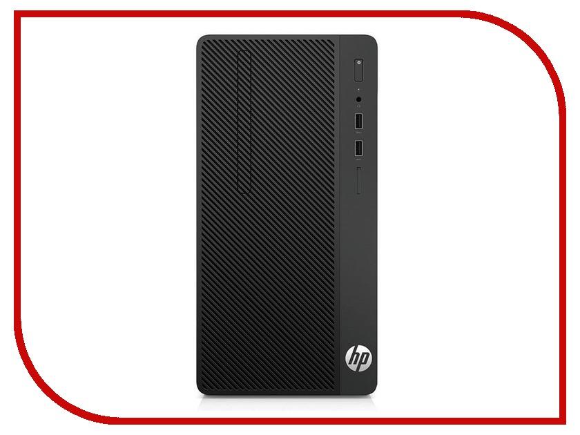 Настольный компьютер HP 290 G1 Microtower 2MT21ES (Intel Core i3-7100 3.9 GHz/4096Mb/1000Gb/DVD-RW/Intel HD Graphics/DOS) настольный пк hp bundle 290 g1 mt 2mt19es 2mt19es acb