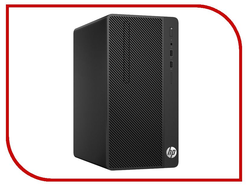 Настольный компьютер HP 290 G1 Microtower 1QN70EA (Intel Core i3-7100 3.9 GHz/4096Mb/500Gb/DVD-RW/Intel HD Graphics/Windows 10 Pro 64-bit) компьютер home 310 intel core i3 7100 3 9ghz 8gb 500gb max size vga 371mm win10h sl 64 bit
