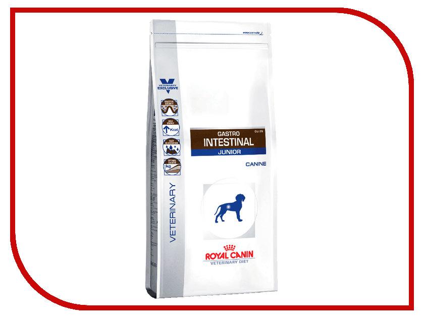 Корм ROYAL CANIN Gastro Intestinal Junior GIJ 29 1kg для собак 623010 корм сухой advance gastro enteric для собак при патологии жкт и ожирении 12 кг