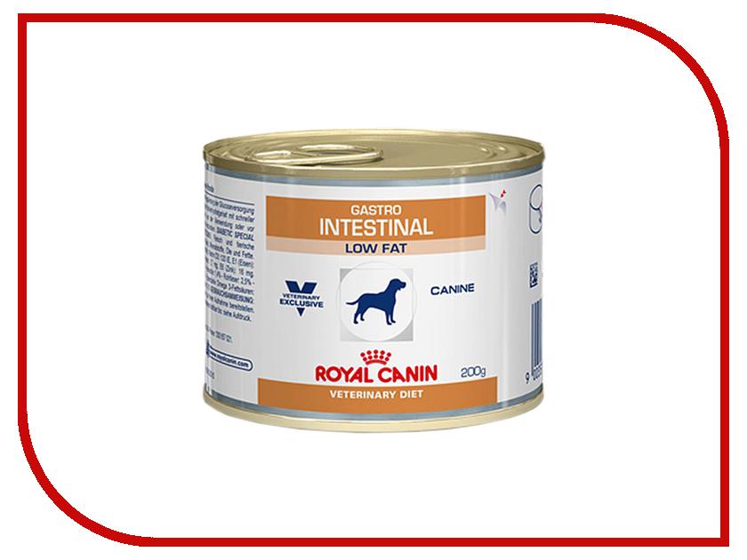 Корм ROYAL CANIN Veterinary Diet Gastro Intestinal GI 25 200g для собак при нарушении пищеварения 661020