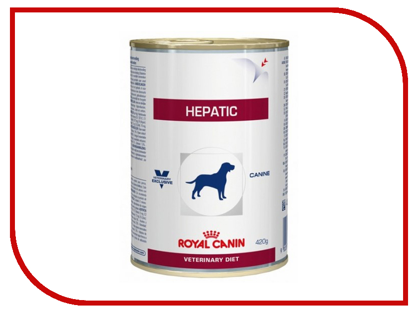 Корм ROYAL CANIN Vet Hepatic Canine 16 420g для собак при заболеваниях печени 663004