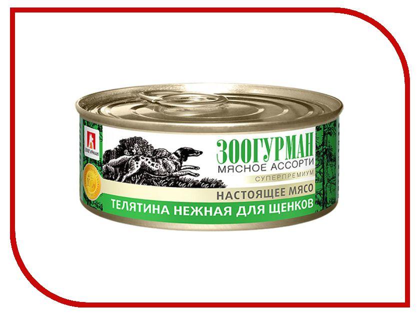 Корм Зоогурман Телятина нежная 100г для щенков 2939